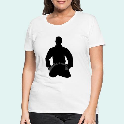 Judo Schwarzgurt - Frauen Premium T-Shirt
