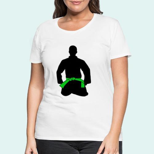 Judo Grüngurt - Frauen Premium T-Shirt