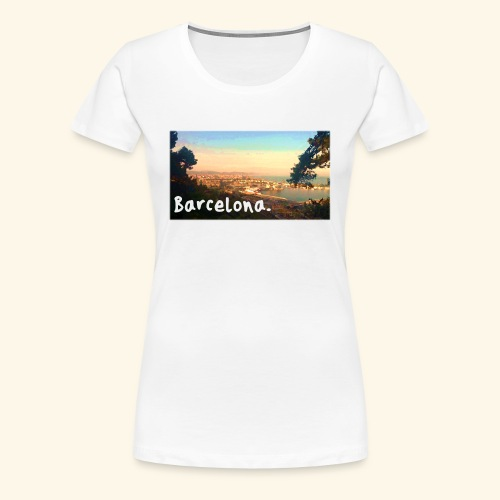 Barcelona - Women's Premium T-Shirt