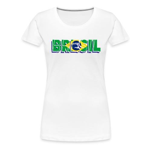 brésil - T-shirt Premium Femme