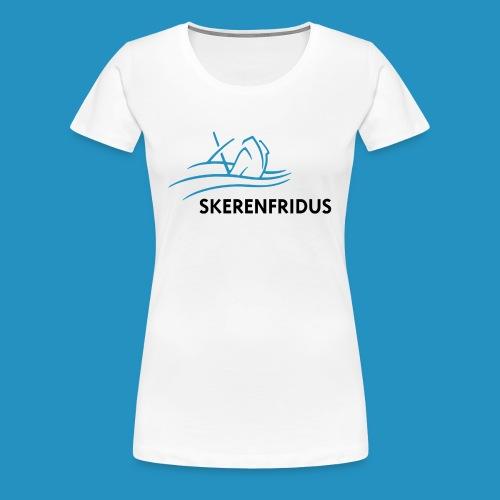 Skerenfridus logo - Vrouwen Premium T-shirt