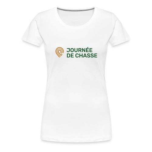 Journée de chasse - Logo couleur - T-shirt Premium Femme