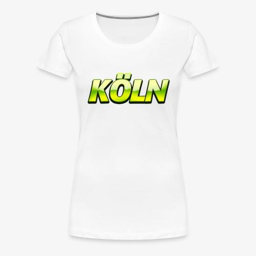Green Hills Groß Köln - Frauen Premium T-Shirt