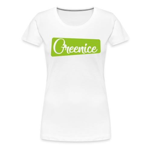 Logo Vintage - Frauen Premium T-Shirt