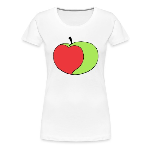 Appley Logo Green - Women's Premium T-Shirt