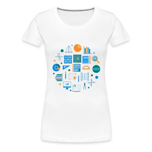 Les mathématiques - T-shirt Premium Femme