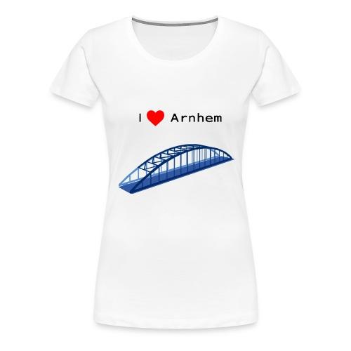 Arnhem, John Frostbrug - Vrouwen Premium T-shirt