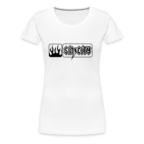 pos vflames - Frauen Premium T-Shirt