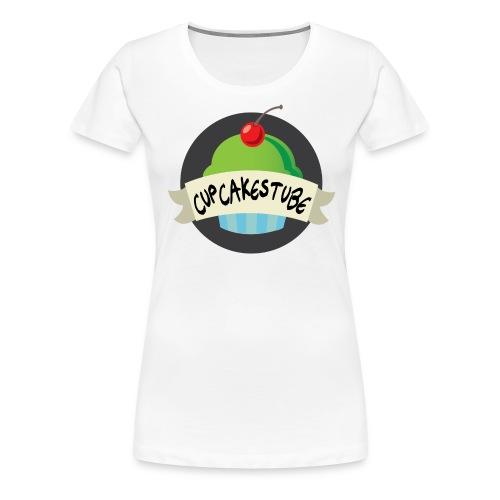 CakeslogoPRESTON png - Maglietta Premium da donna