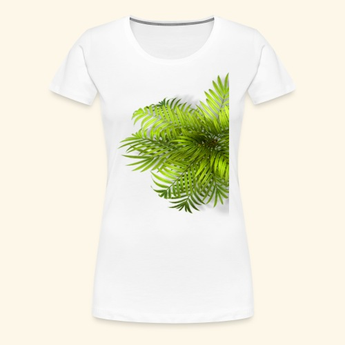 Palm T Shirt - Frauen Premium T-Shirt