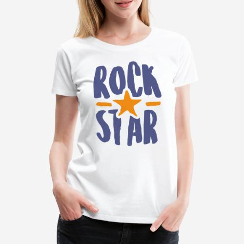 rock star - Frauen Premium T-Shirt