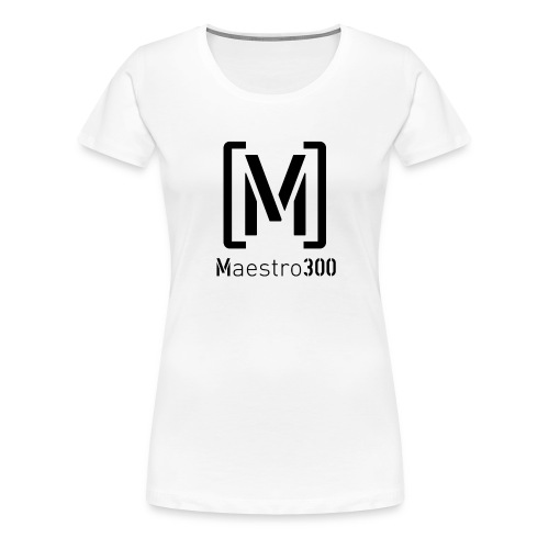 logoblack - Frauen Premium T-Shirt