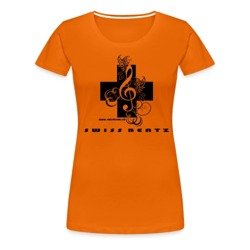 Swiss Beatz Logo with L - Frauen Premium T-Shirt