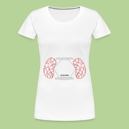 ReniRed - Maglietta Premium da donna