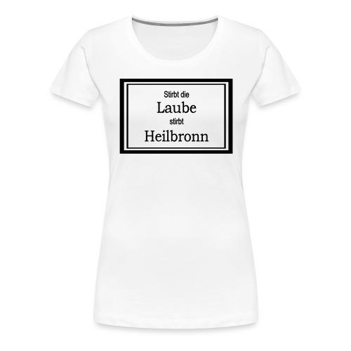 Aufkleber - Frauen Premium T-Shirt