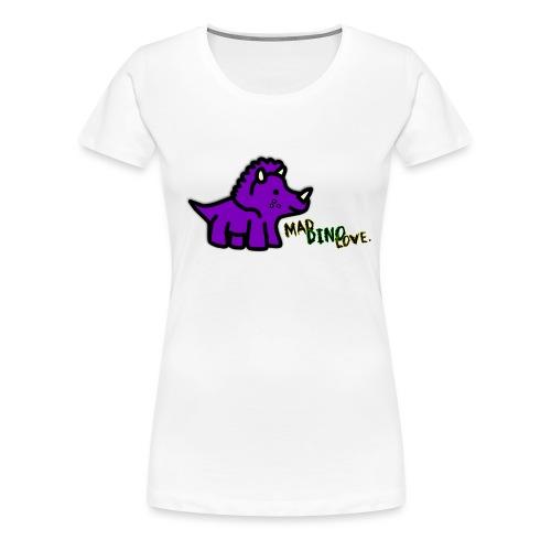Trixie Mad Dino Love png - Women's Premium T-Shirt