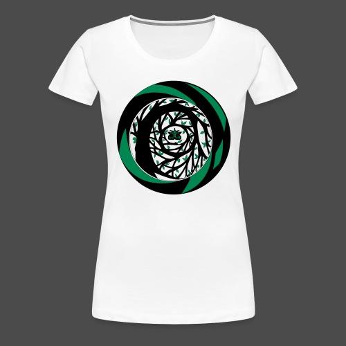 JG Spiral Colour Small 2 - Women's Premium T-Shirt