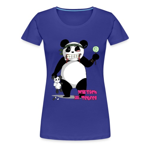 panda004 shirt png - Frauen Premium T-Shirt