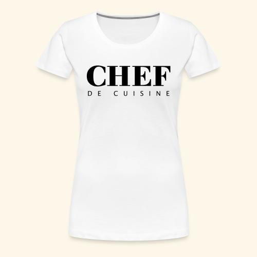 BOSS de cuisine - logotype - Women's Premium T-Shirt