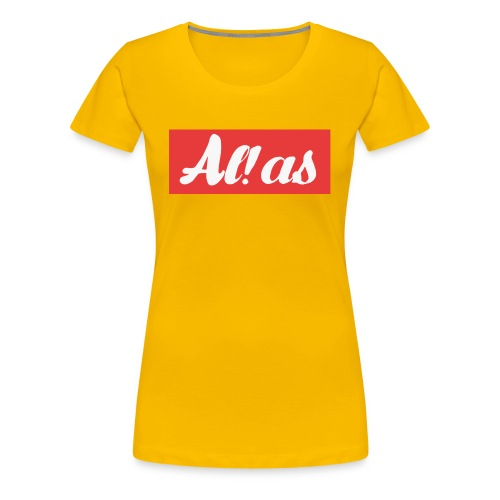 Al!as - Dame premium T-shirt