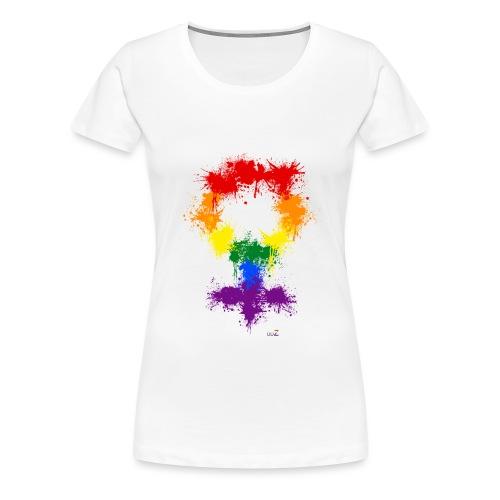 Raimbow XX symbole féminin - T-shirt Premium Femme