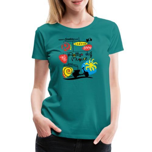 Rallye du Muguet 2009 - T-shirt Premium Femme