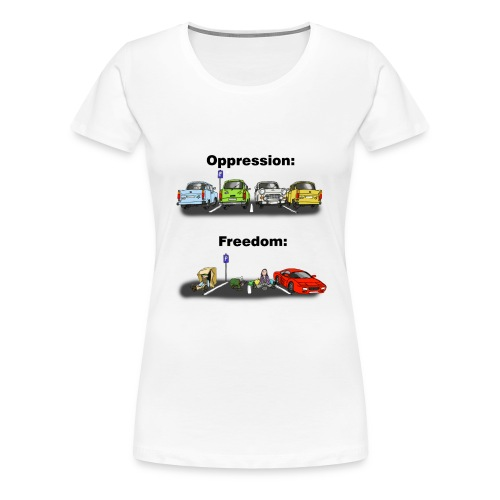 Ostalgi - Dame premium T-shirt