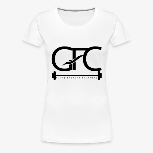 GAINS FACTORY COACHING - Frauen Premium T-Shirt