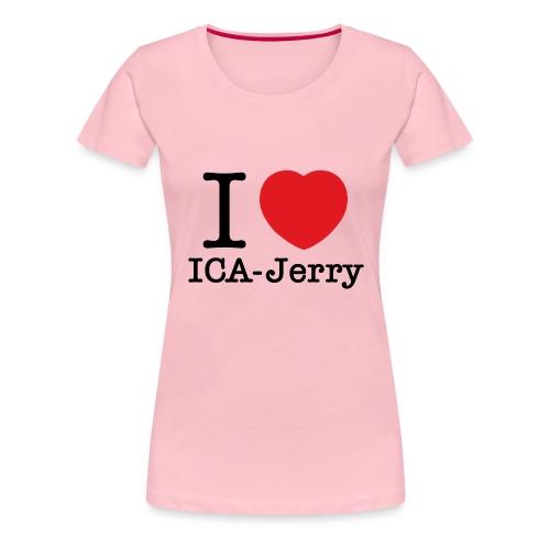 icajerry - Premium-T-shirt dam