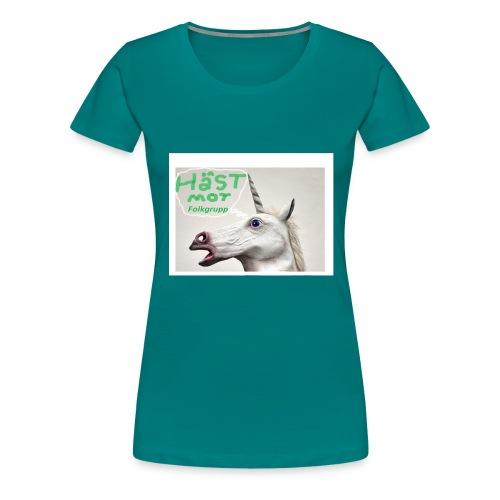 haest mot folkgrupp - Premium-T-shirt dam