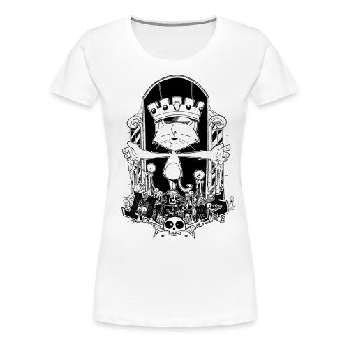 gato2 png - Women's Premium T-Shirt