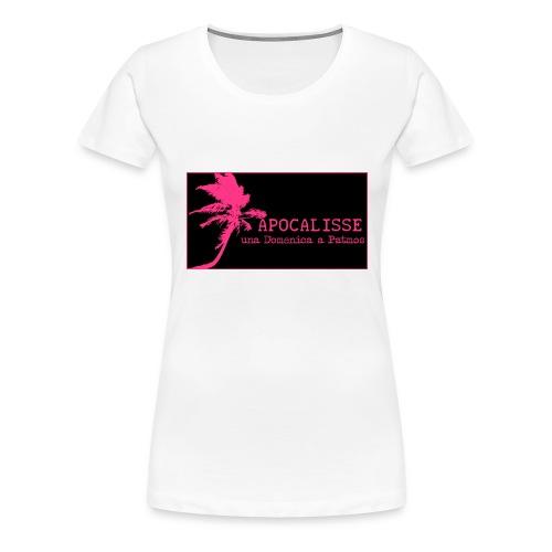 apocalisse n/fuxia - Maglietta Premium da donna