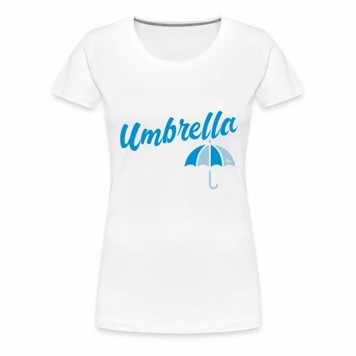 Umbrella Inc. Tipo sobre logo - Camiseta premium mujer