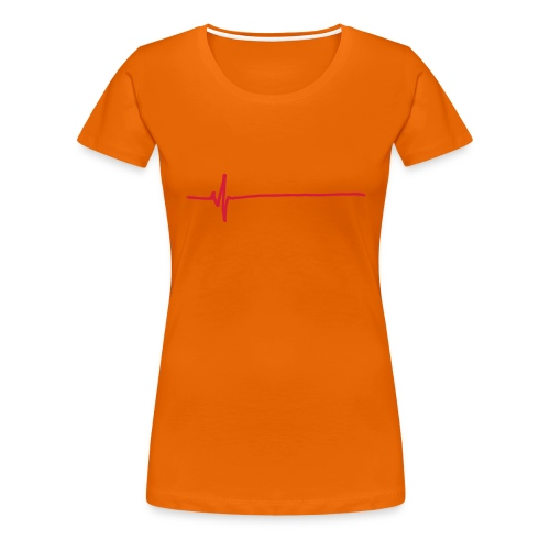 Flatline - Women's Premium T-Shirt