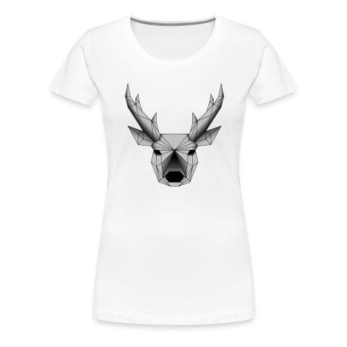 cerf - T-shirt Premium Femme