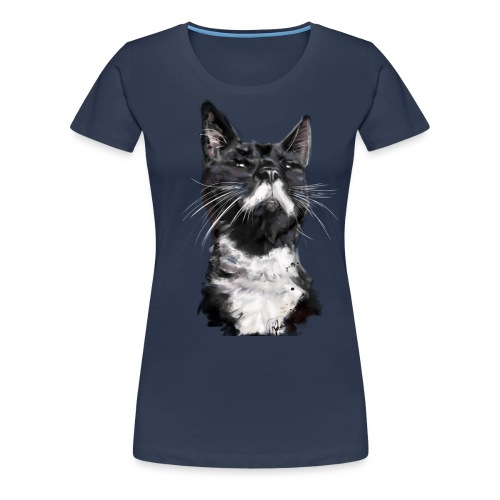 Stalin transparent02 png - Women's Premium T-Shirt