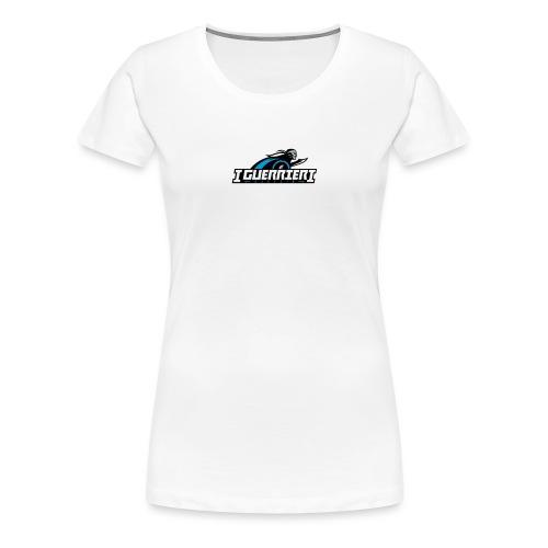 logo sans fond i guerrier - T-shirt Premium Femme