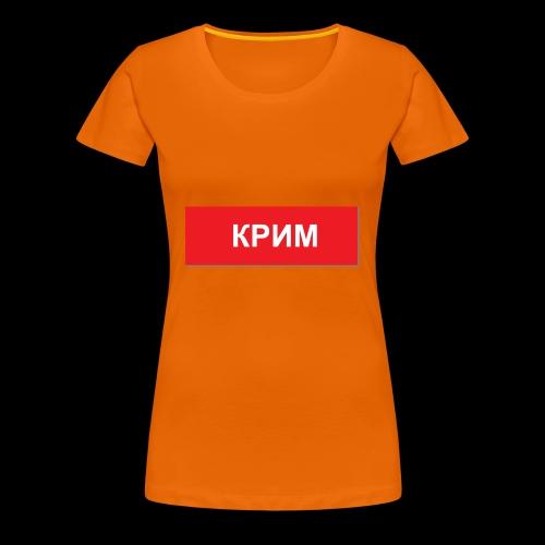 Krim - Utoka - Frauen Premium T-Shirt