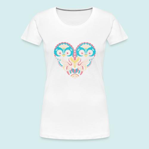 Two Owls - Women's Premium T-Shirt