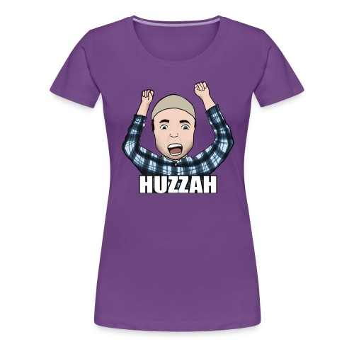 Fuse4Gaming | Huzzah! - Women's Premium T-Shirt