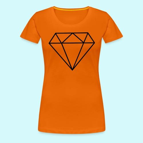 Diamant 5 - Frauen Premium T-Shirt
