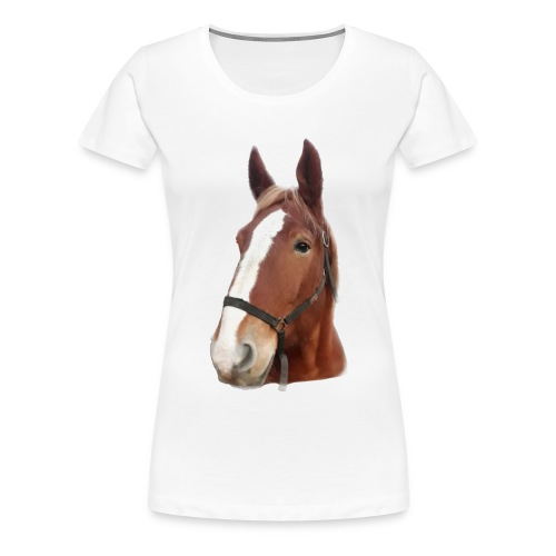 Tapis de souris HORSE - T-shirt Premium Femme