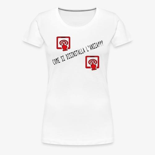 Ansia - Maglietta Premium da donna