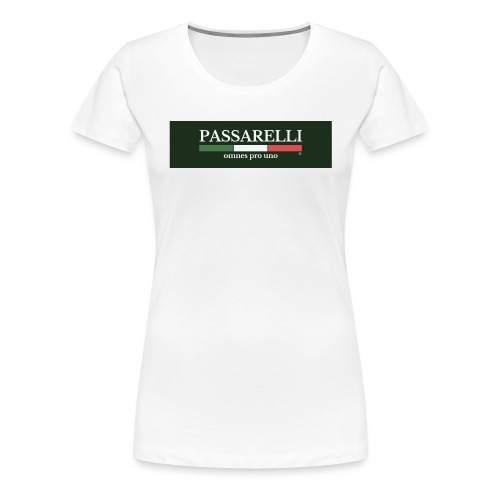 PASSARELLI - Maglietta Premium da donna