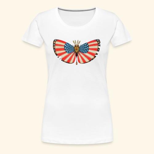 patriot moth - Maglietta Premium da donna