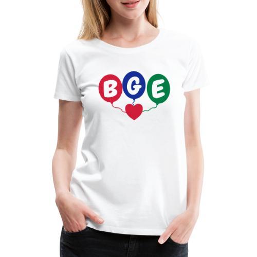 Luftballons - Frauen Premium T-Shirt
