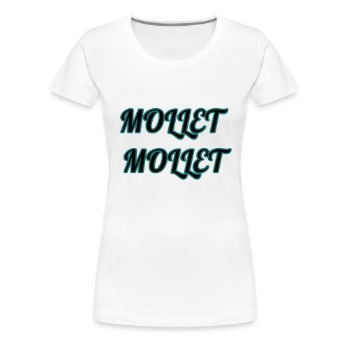 mollet mollet squad - T-shirt Premium Femme
