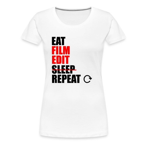 Life of a filmmaker - Frauen Premium T-Shirt
