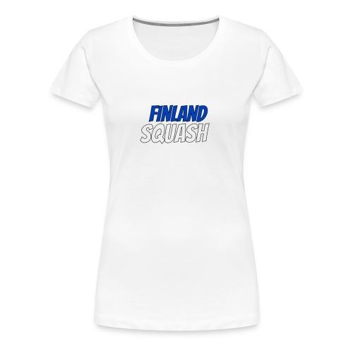 Squash Finland - Women's Premium T-Shirt