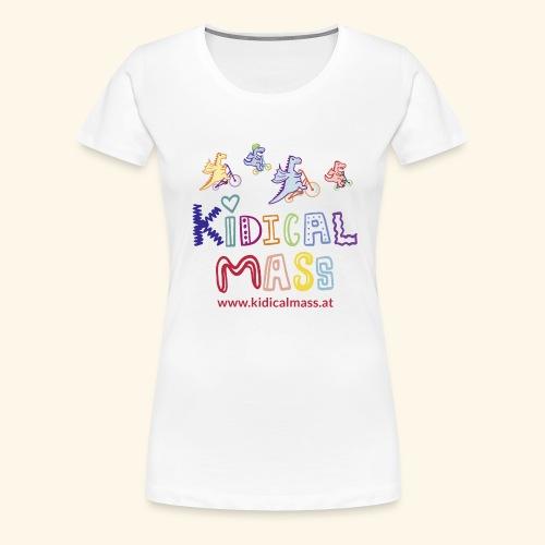 Kidical Mass 2021 - Frauen Premium T-Shirt